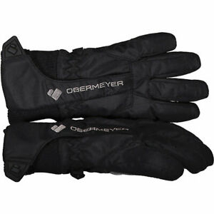 Obermeyer Kid's Black Thumbs Up Gloves  Size XS 75009