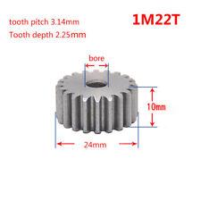 1.5Mod 16T Metal Spur Gear With Step 45# Steel Motor Gear 1.5M16T Bore 5-12mm