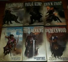 Dungeons & Dragons Forgotten Realms Complete Set of The Sundering 6 BOOKS 1st HB