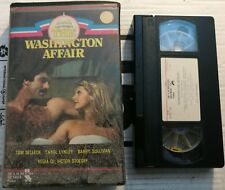 VHS THE WASHINGTON AFFAIR di Victor Stoloff [DE LAURENTIS-RICORDI]