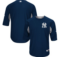 Authentic NY Yankees Batting Baseball Jersey New Mens LARGE