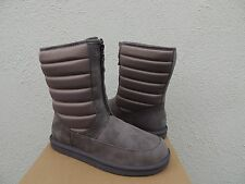 UGG ZAIRE NIGHTFALL WATER-RESISTANT LEATHER SHEEPSKIN SNOW BOOTS, US 9/ 40 ~NIB