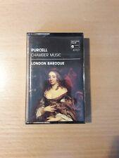 Purcell/ Chamber Music London Baroque Cassette Tape