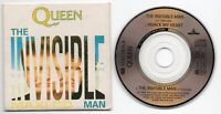 Queen CD-Single 3-Inch THE INVISIBLE MAN 12 Inch Version © 1989 HIJACK MY HEART