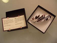 Haarspange aus original Muranoglas Schmuck Murano Glas UNIKAT Handarbeit bunt