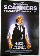 SCANNERS - Ihre Gedanken können töten - David Cronenberg -  Filmplakat DIN A1