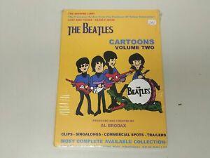 JJ8- THE BEATLES CARTOONS VOLUME TWO BRASIL DVD NUEVO PRECINTADO MUY RARO
