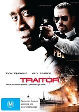 TRAITOR - Don Cheadle, Guy Pearce (DVD, 2009)