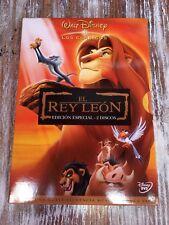 DISNEY EL REY LEON The Lion King DVD pixar CLÁSICO classic