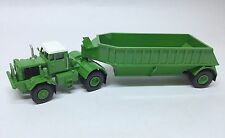 Ho 1/87 Kw Dart 50 Bdt/Bottom Trailer - Green - Ready made Resin Model