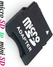 NEW Micro SD HC SDHC TF to Mini SD miniSD Memory Card Adapter Converter reader