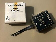 Atari TV Switch Box Cable In Original Box Computer Antenna CA014746