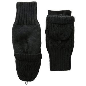 Under Armour UA ColdGear Ladies Warm Winter Gloves Black Around Town Mittens