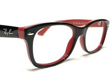 Ray Ban Junior RB1528 3573 Unisex Black & Red Rx Eyeglasses Frames 48/16~130