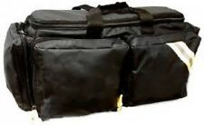 LINE2design Oxygen Supplies Bag - EMS Medical Deluxe O2 bag with Straps - Black
