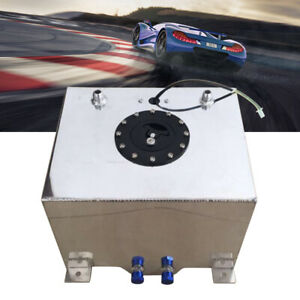 20 Liter Aluminium Kraftstoff Tank Renntank Motorsport Benzin Tank 5 Gallonen