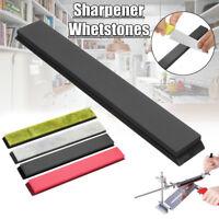 4Pcs Cutter Blades Sharpener Stone Polishing Whetstone Oilstone Base 3000-10000#