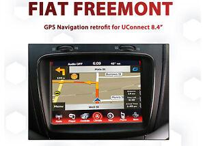 Fiat Freemont 2012-2017- UConnect 8.4 Integrated GPS Navigation