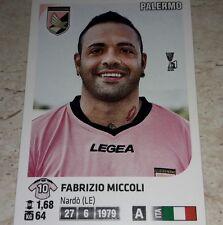 FIGURINA CALCIATORI PANINI 2011/12 PALERMO MICCOLI ALBUM 2012
