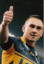 Kevin Sinfield Hand Signed Leeds Rhinos 12x8 Photo 1.