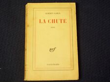 La Chute Albert Camus French 1956 First Edition Vtg Book Existentialism Novel