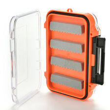 Double Side Waterproof Pocket Fly Fishing Box Slid Foam Insert Hold 170 Flies LE