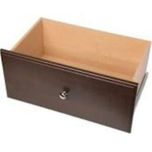 Easy Track RD12-T 12 in. Easy Track Drawer Truffle
