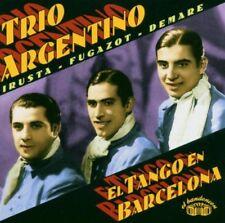 Trio argentino-El Tango EN BARCELLONA-CD -