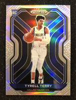 2020-21 Panini Prizm Tyrell Terry RC RARE Silver Parallel Rookie # 259 SHARP!
