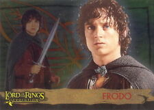 "2006 LORD of the RINGS ""EVOLUTIONS"" TOPPS FOIL PROMO TRADING CARD - V/GOOD COND"