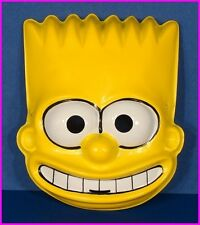* Bart Simpson of The Simpsons TV Halloween Costume Mask Ben Cooper 1989 NEW *