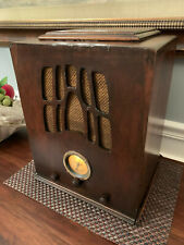 1930's Setchell Carlson Working Rare Tombstone Radio