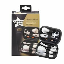 Tommee Tippee Health Care Safety Kit Baby Newborn Grooming Brush Thermometer Nai
