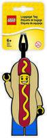 LEGO Iconic Hot Dog Man Luggage Tag Lego Toy