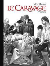 Manara – La Caravage intégrale collector noir et blanc TL Glénat