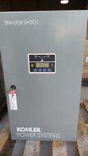 Kohler KCT-AFNA-0104S Transfer Switch, 104A, 240V, 3 Wire, 1 Phase, 2 Pole, 60Hz