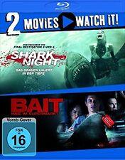 SHARK NIGHT/BAIT 3D 2 BLU-RAY NEU