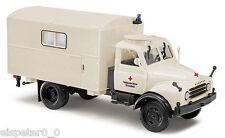 Busch 50806 ,Hanomag al 28 mkw » CRUZ ROJA «, H0 Auto Modelo 1:87
