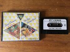 COMMODORE 64 (C64) - SPY'S DEMISE & THE SPY STRIKES BACK - GAME