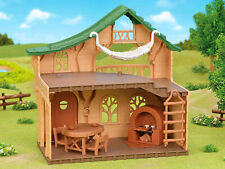 Sylvanian Families Calico Critters Forest Log Cabin House
