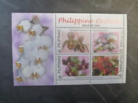 1999 PHILLIPINES ORCHIDS 4 STAMP SHEETLET MINT MNH
