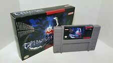 Terranigma - English Translation SNES Super Nintendo NTSC - RPG