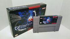 Terranigma - English Translation SNES Super Nintendo NTSC - RPG