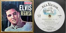 REGRESA - Elvis Presley - rare CUBAN 1960 pressing LP - Elvis Is Back