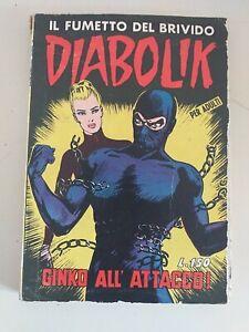 DIABOLIK prima serie ORIGINALE  n.   16 - 1964