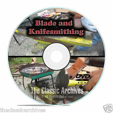 Bladesmithing Instructional Books, Learn Knife Making, 15 hrs Video Mp4 Dvd B73