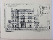 Samuel M Nickerson Mansion Chicago IL RH Love Galleries Commemorative Brochure