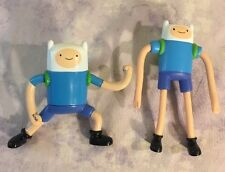Adventure Time Figure Finn Lot of 2 - Sonic Wacky Pack Toy Cake Topper