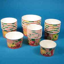 1000 Eisbecher Eiskrembecher aus Pappe Hartpapier Pappbecher für Eiskrem 140ml