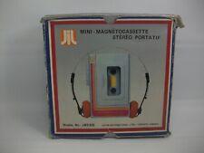 Vintage Jws 620 Portable Cassette Player w/ Box Headphones Parts Repair